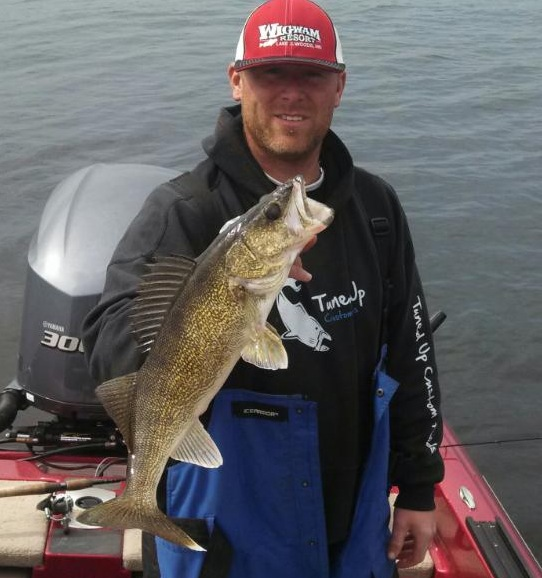 I mn fishing fishing report from mille lacs lake mn 5 18 for Lake mille lacs fishing report